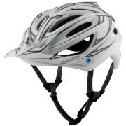 Troy Lee Designs A2 MIPS Pinstripe 2 MTB Helmet - White