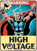 Tin Sign Small - Marvel Thor