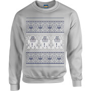Sweat Homme R2-D2 - Star Wars - Gris