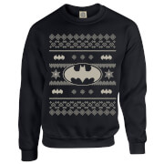 Sweat Homme Batman Bat Symbole - DC Comics - Noir