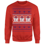 Star Wars R2D2 Christmas Knit Red Christmas Sweatshirt