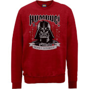 Star Wars Darth Vader Merry Sithmas Weihnachtspullover - Rot