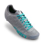 Giro Empire E70 Knit Women's Road Cycling Shoes - Grey/Glacier