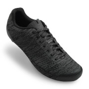 Giro Empire E70 Knit Road Cycling Shoes - Black/Charcoal Heather
