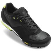 Giro Petra Women's MTB Cycling Shoes - Black/Wild Lime