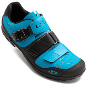Giro Terraduro MTB Cycling Shoes - Blue Jewel/Black