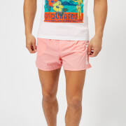 Dsquared2 Men's Logo Swim Shorts - Pink/White