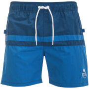 Short de Bain Teesdale Crosshatch - Bleu