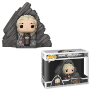 Figurine Pop! Game of Thrones - Daenerys sur trône Peyredragon (Dragonstone)