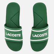 Lacoste Men's L.30 118 2 Slide Sandals - Green/White
