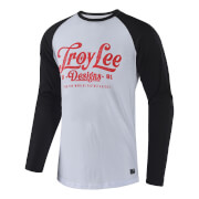 Troy Lee Designs Spiked Long Sleeved Top - White/Red