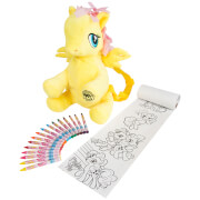 My Little Pony Fluttershy Backpack with Colouring Accessories
