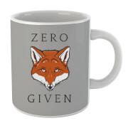 Tasse Zero Fox Given