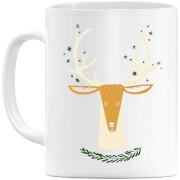 Christmas Reindeer Head Mug