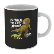 "Taza ""Did You Eat The Last Unicorn?"" - Negro"