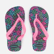 Havaianas Kids' Flores Flip Flops - New Purple