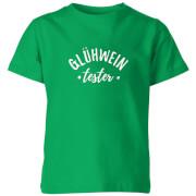 Gluhwein Tester Kids' T-Shirt - Kelly Green