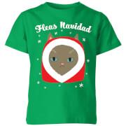 Fleas Navidad Kids' T-Shirt - Kelly Green