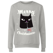 Merry Christmouse Women's Sweatshirt - Grey