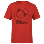Believe Red T-Shirt - Red