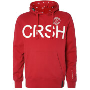 Crosshatch Men's Retrojer Hoody - Barbados Cherry