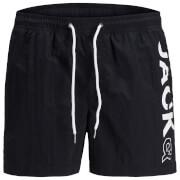 Jack & Jones Men's Originals Jones 512 Logo Swimshorts - Black