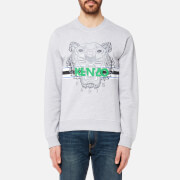 KENZO Men's Sport Type Tiger Sweatshirt - Grey