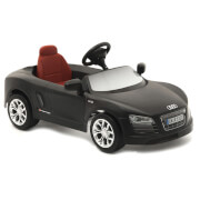 Audi R8 Spyder Pedal Power Car - Matte Black