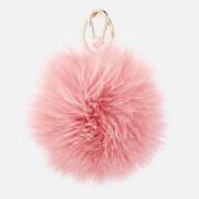 Furla Women's Bubble Pom Pom Keyring - Pink