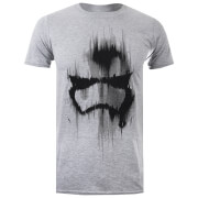 Star Wars Men's Trooper Mask T-Shirt - Grey Marl