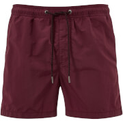 Jack & Jones Men's Originals Sunset Swim Shorts - Burgundy