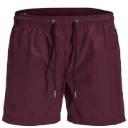 Short de Bain Originals Sunset Jack & Jones - Bordeaux