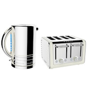 Dualit Architect Kettle and 4 Slot Toaster Bundle - Canvas