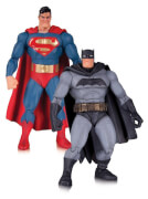 DC Figs Dark Knight Returns Batman & Superman 2pk(30th Anniv