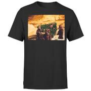 Star Wars Weihnachten Jawa Tree T-Shirt - Schwarz