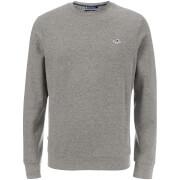 Crosshatch Men's Letterman T-Shirt - Vaporous Grey