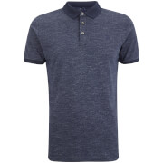 Dissident Men's Dace Textured Polo Shirt - Ink
