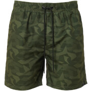 Dissident Men's Rico Swim Shorts - Khaki Camo