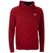 Le Shark Men's Lombard Zip Through Hoody - LS Red