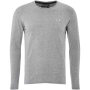 Le Shark Men's Lambeth Long Sleeve T-Shirt - Light Grey Marl