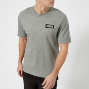 Puma Men's Rebel Short Sleeve T-Shirt - Grey Heather