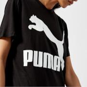 Puma Women's Classics Logo Short Sleeve T-Shirt - Puma Black