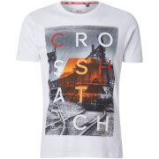 Crosshatch Men's Silverstreak T-Shirt - White