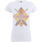 Harry Potter Gryffindor Women's White T-Shirt