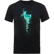 Harry Potter Doe Always Patronus Men's Black T-Shirt