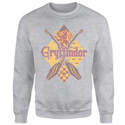 Harry Potter Gryffindor Grey Sweatshirt