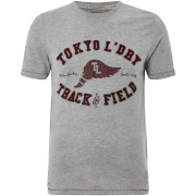 T-Shirt Homme Springfield Tokyo Laundry - Gris Clair Chiné