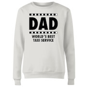 Dad Taxi Service Women's Sweatshirt - White