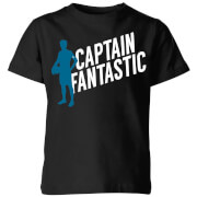 Captain Fantastic Kids' T-Shirt - Black