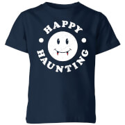 Happy Haunting Kids' T-Shirt - Navy